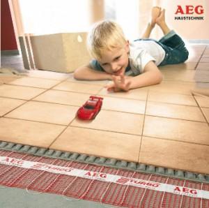 Elektrische Bodenheizung AEG